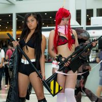 Black Rock Shooter and Yoko Littner