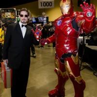 Tony Stark and Iron Man