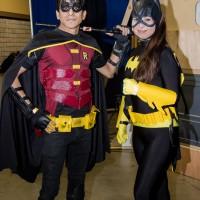 Robin and Batgirl