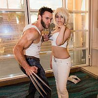 Wolverine and Emma