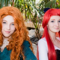 Merida and Ariel
