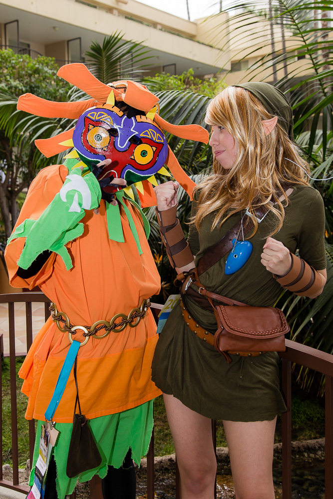 Skull Kid and Link